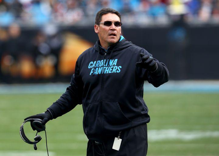 Panthers' Coach Ron Rivera
