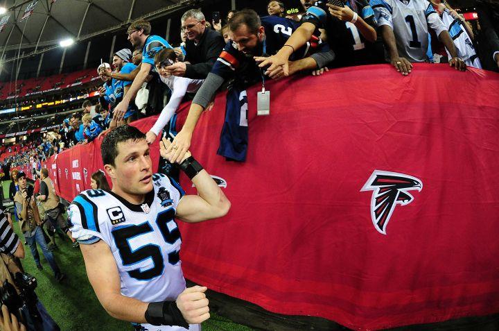 Carolina Panthers' Luke Kuechly