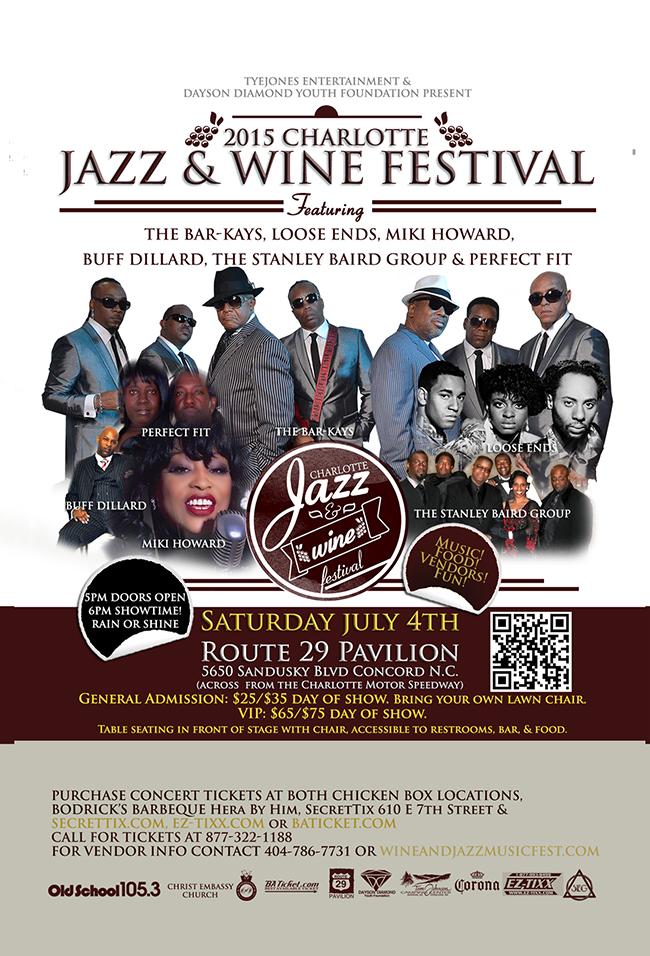 2015 Jazz & Wine Festival