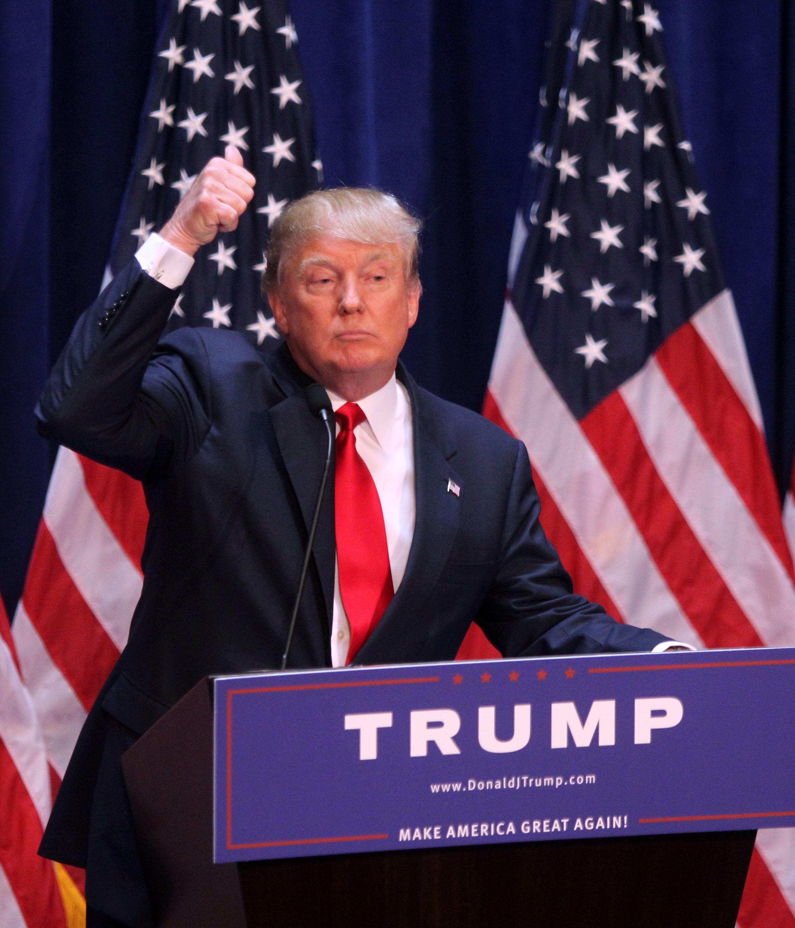 Donald Trump Presidential Announcement