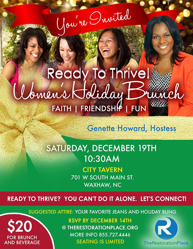 Ready To Thrive Womens Holiday Brunch