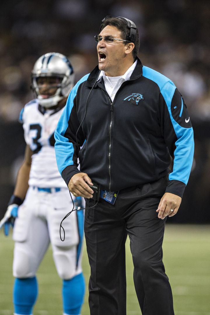 Carolina Panthers Coach Ron Rivera