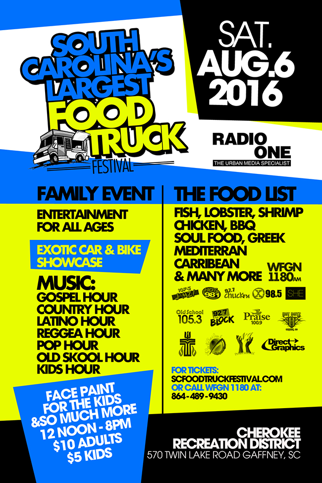 South Carolina's Food Truck Festival