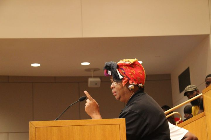 Protestors Voice Their Anger At City Council