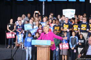 Clinton Raleigh Rally