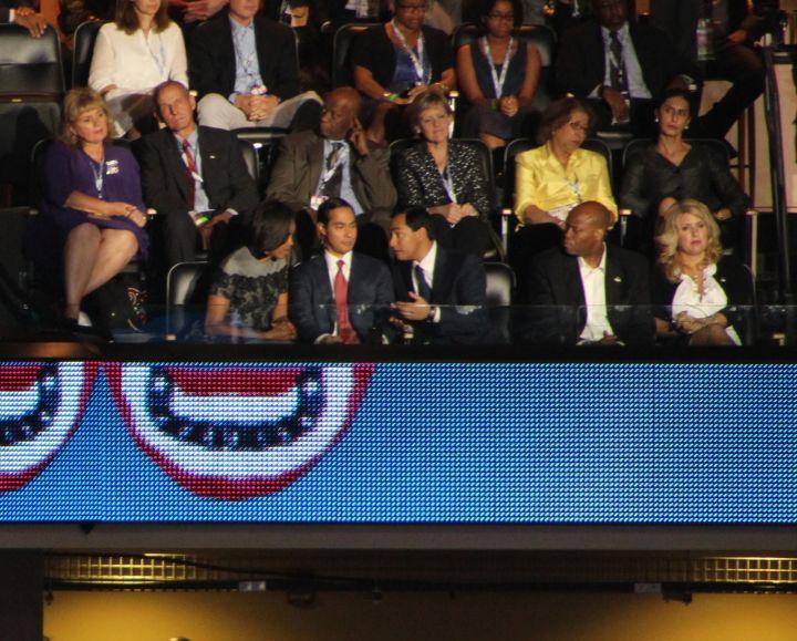 Michelle Obama At DNCC Convention Charlotte 2012