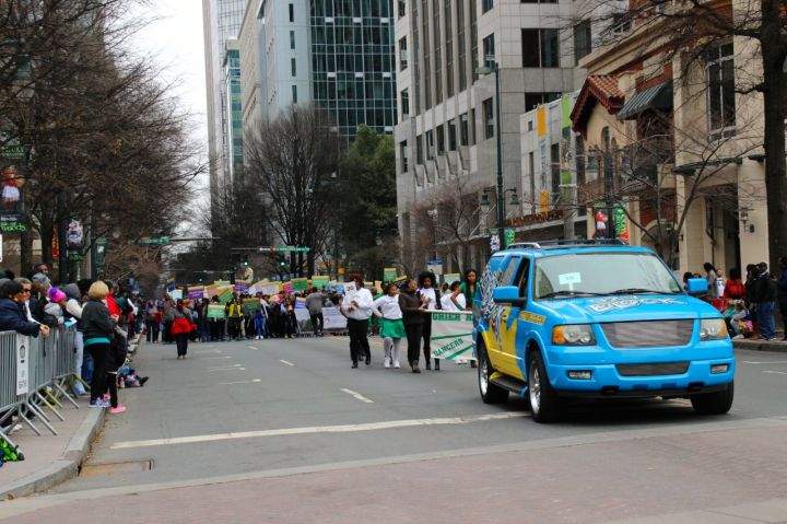 92.7 The Block in the Martin Luther King, Jr. Parade 2017