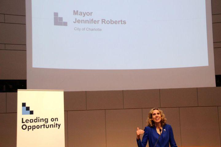Charlotte Mayor Jennifer Roberts