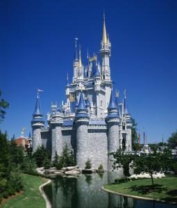Cinderella Castle, Magic Kingdom, Disneyworld, Orlando, Florida, USA