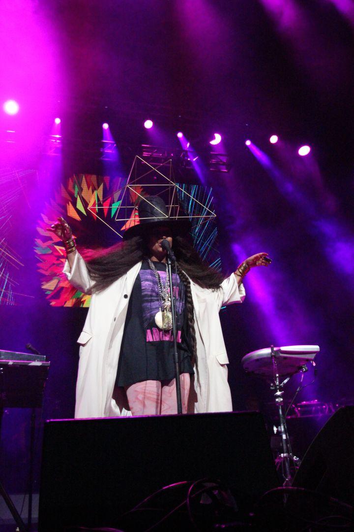 FunkFest Charlotte 2017- Erykah Badu