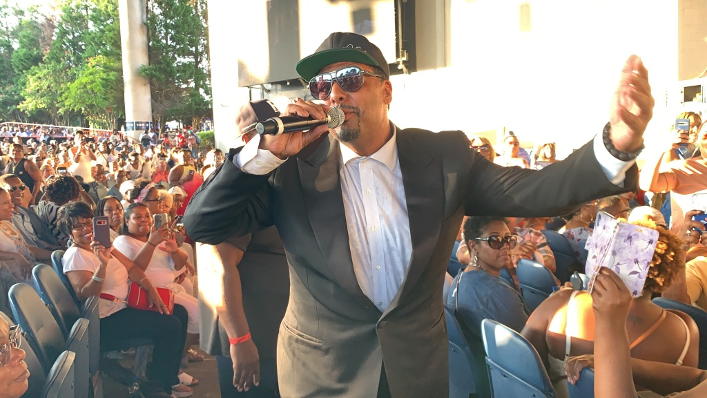 Al B Sure Performs at the One More Time Experience Charlotte