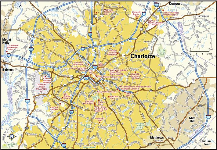 Charlotte, North Carolina area