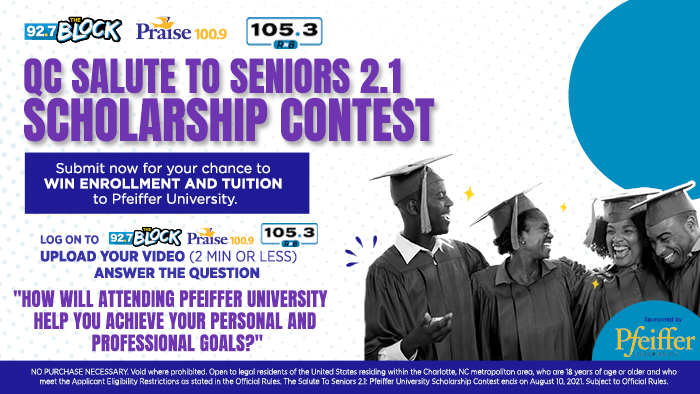 Salute To Seniors - Pfeiffer Scholarship Contest